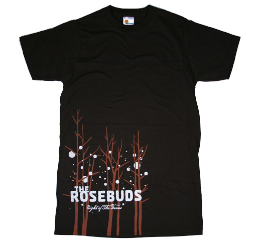 The Rosebuds / Night of the Furies Tee