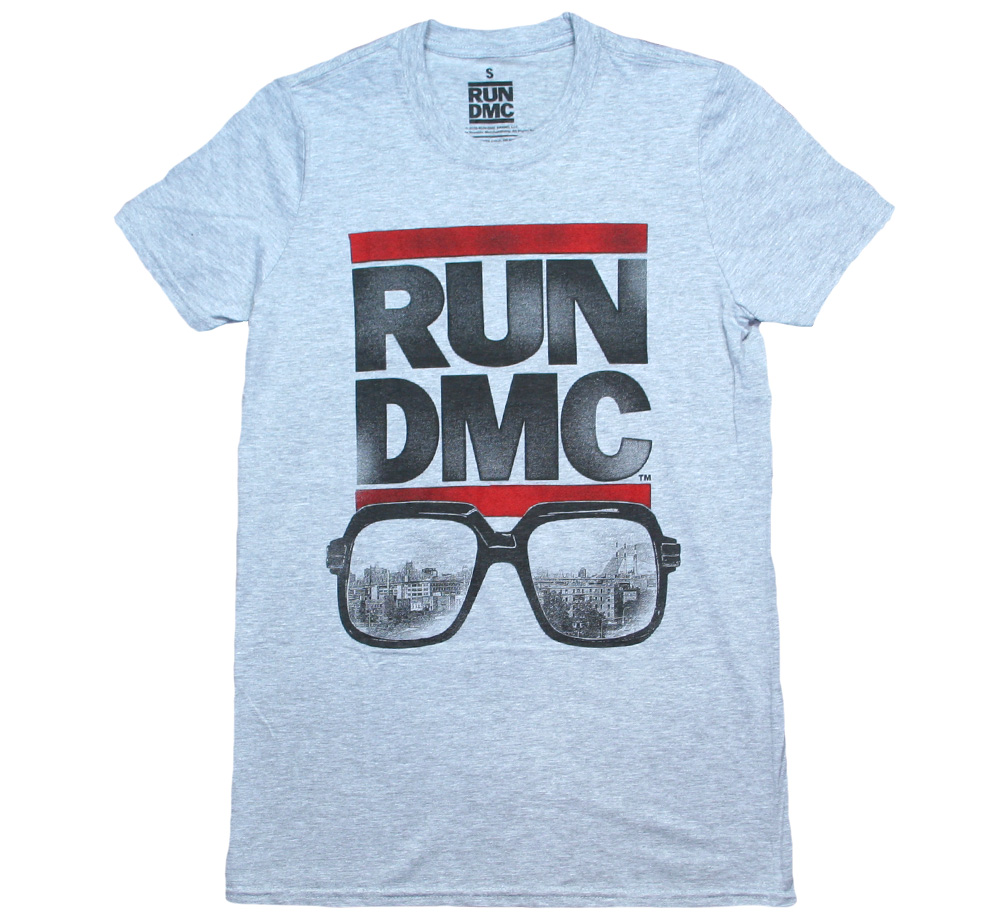RUN DMC / Glasses NYC Tee (Grey)