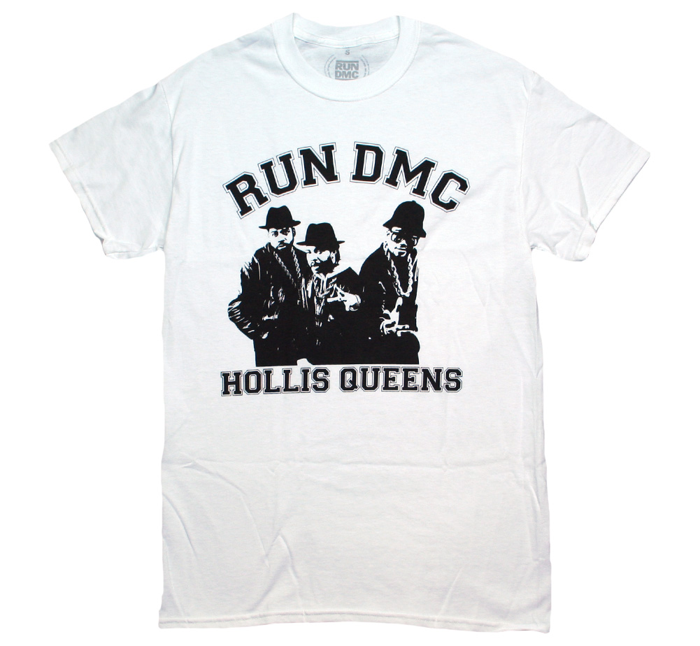 RUN DMC / Hollis Queens Tee (White)