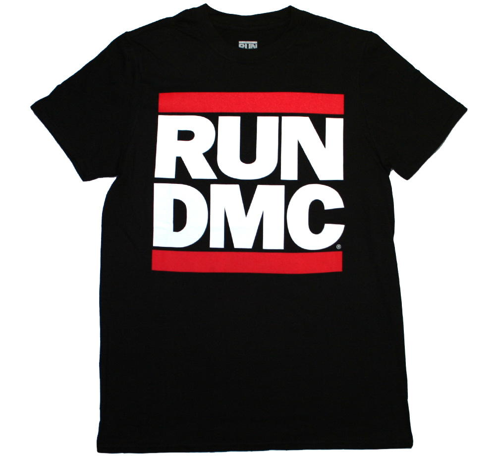 RUN DMC / Logo Tee (Black)