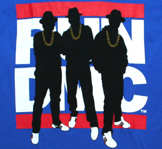 RUN DMC / Silhouette Tee (Royal Blue)