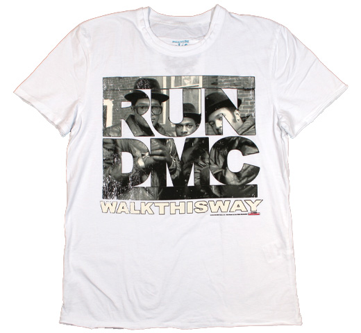 【Amplified】 RUN DMC / Walk This Way Tee (White)