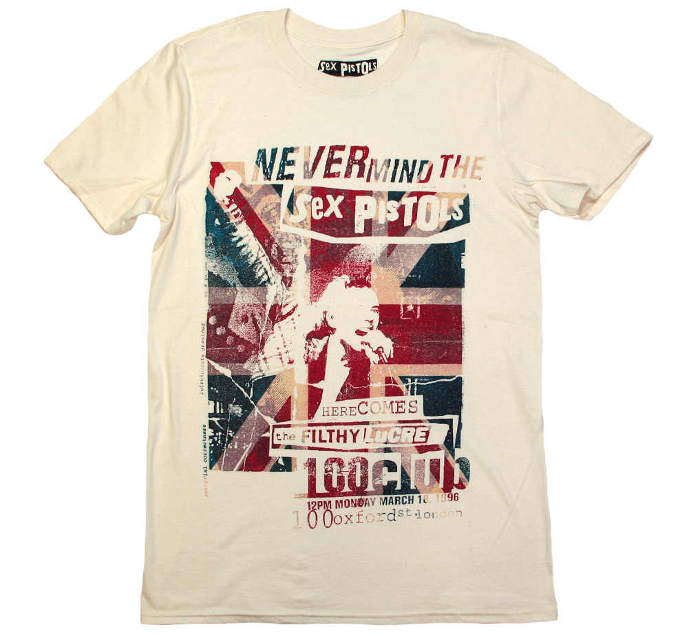 Sex Pistols / the FILTHY LuCRE Tee (Vintage White)