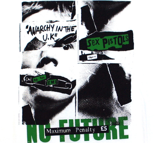 Sex Pistols / NO FUTURE Tee (White)