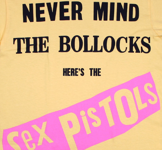 Sex Pistols / Never Mind the Bollocks Tee (Yellow)