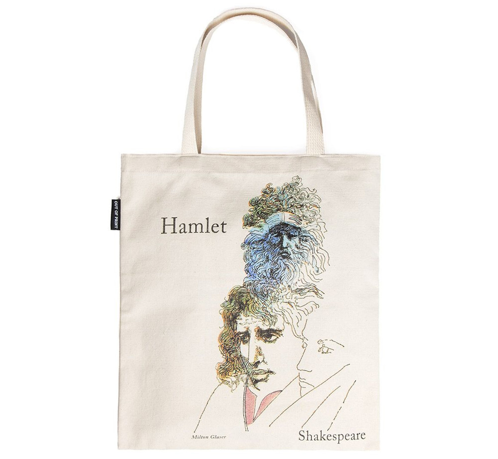 【Out of Print】 William Shakespeare / Hamlet and The Tempest Tote Bag