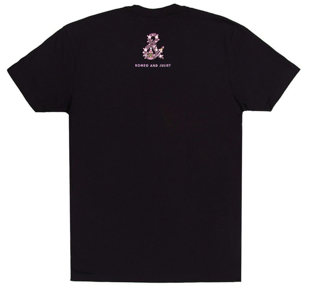 [Out of Print] William Shakespeare / Romeo and Juliet Tee (Black)