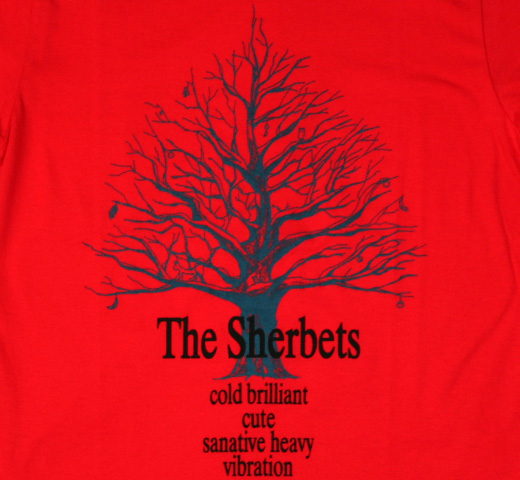Sherbets / Happy Tree Tee (Cherry Red / S)