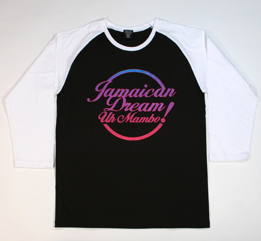Sherbets / Jamaican Dream ロンTee (Black/White)