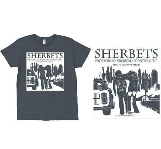Sherbets / Thank You My Friend Tee (Denim)