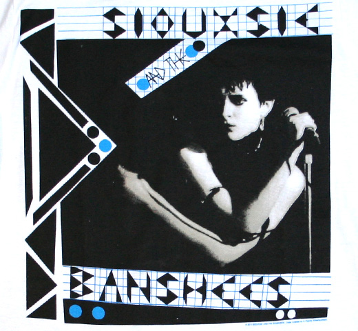Siouxsie And The Banshees / Zig Zag Tee (White)