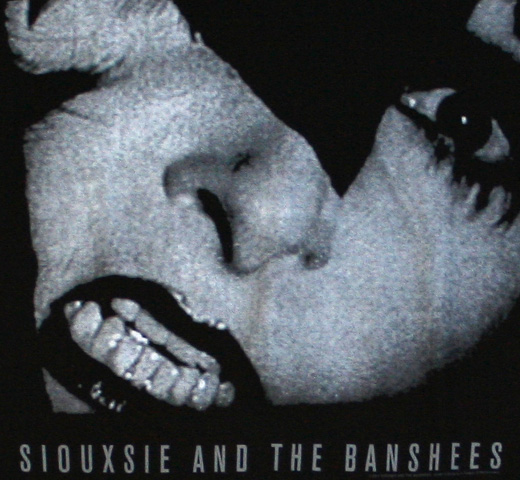 Siouxsie And The Banshees / Siouxsie Sue Tee (Black)