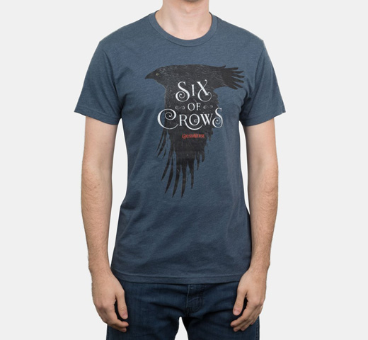 [Out of Print] Leigh Bardugo / Six of Crows Tee (Indigo)