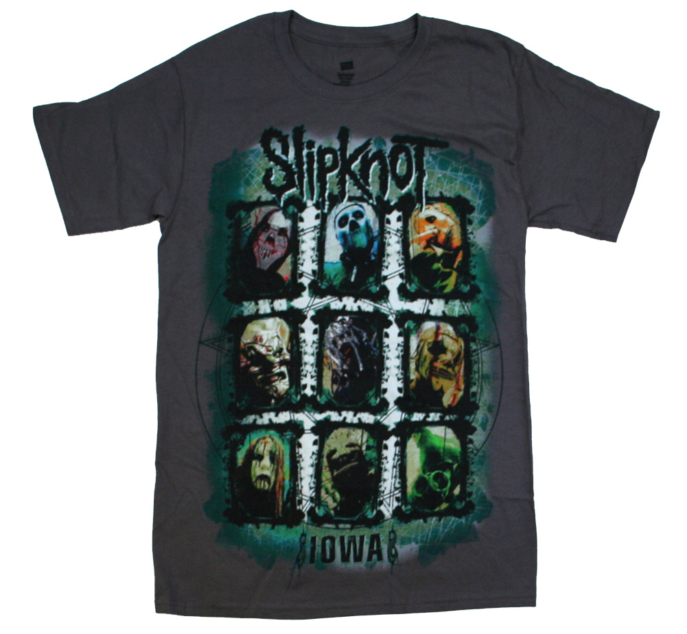 SlipKnoT / IOWA Tee (Charcoal Grey)