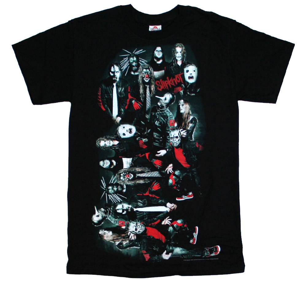 SlipKnoT / Mask Hell Tee (Black)