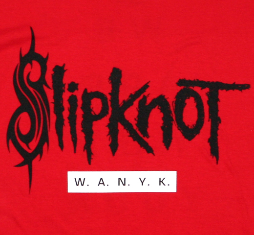 SlipKnoT / We Are Not Your Kind Tee (Red)