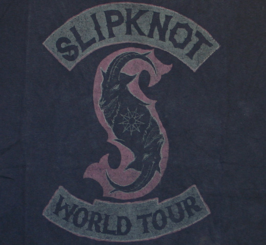SlipKnoT / World Tour Tee (Vintage Black)