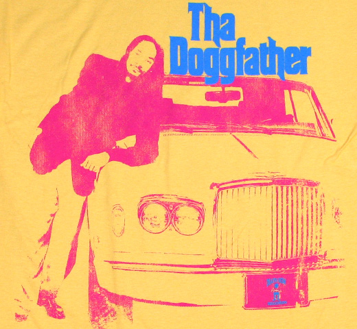 Snoop Doggy Dogg / Tha Doggfather Tee (Yellow)