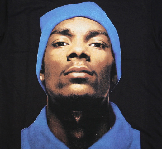 Snoop Dogg / Portrait Tee (Black)