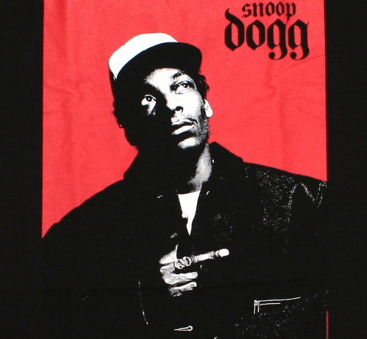 Snoop Dogg / Portrait Tee 2 (Black)