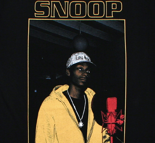 Snoop Doggy Dogg / Portrait Tee (Black)