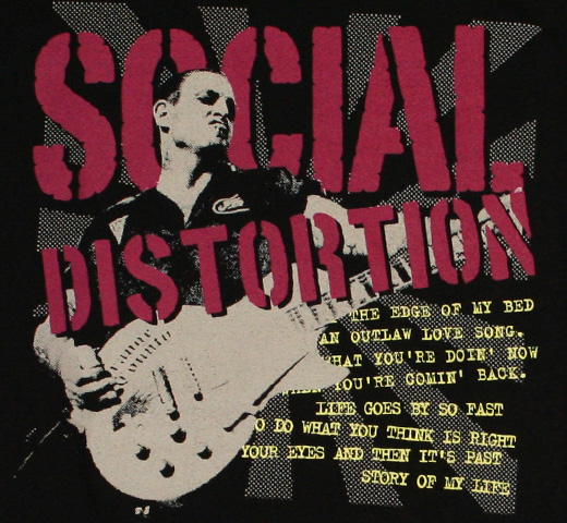 Social Distortion / Story of My Life Tee (Womens)