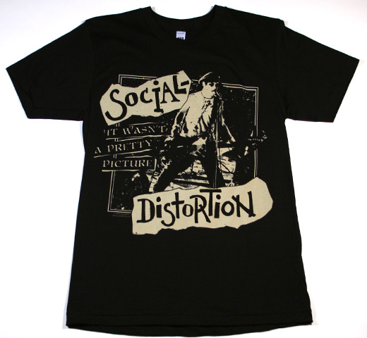 Social Distortion / It Wasn't A Pretty Picture Fitted Tee (Black)