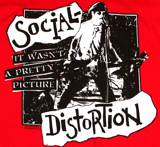 Social Distortion / It Wasn't A Pretty Picture Tee (Red)
