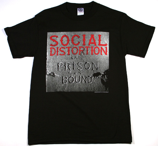 Social Distortion / Prison Bound Tee