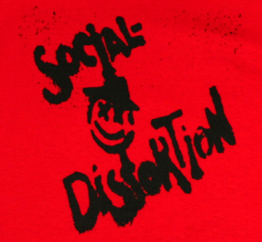 Social Distortion / X Face Tee (Red)