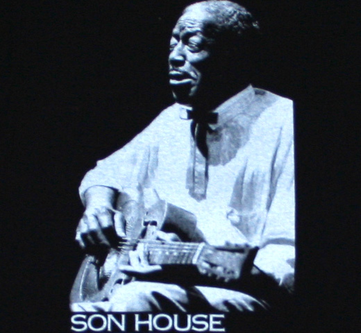 Son House / Guitar Tee (Black)
