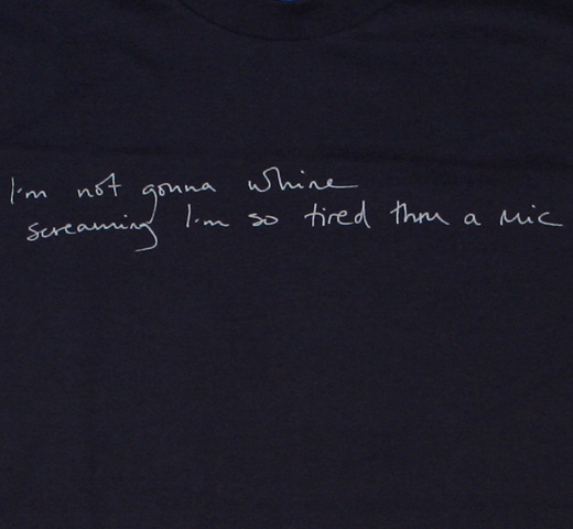 Sondre Lerche / Quote Tee (Dark Navy)