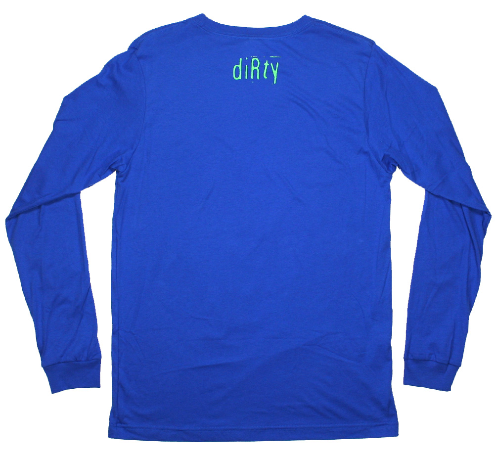 Sonic Youth / Dirty Alien Long Sleeve Tee (Blue)