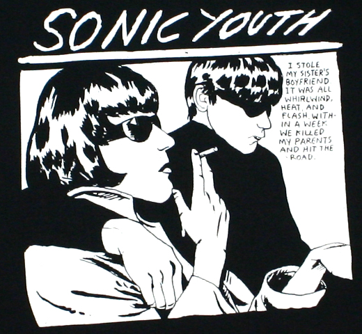 Sonic Youth / Goo Tee 2 (Black)