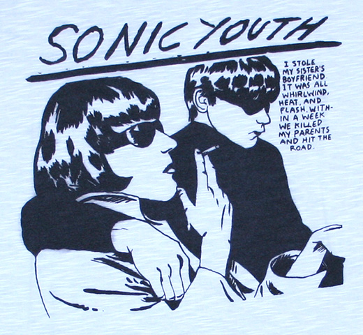 【Worn By】 Sonic Youth / Goo Pocket Tee (White)