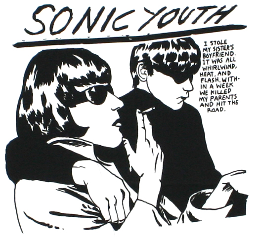 Sonic Youth / Goo Tee 2 (White)