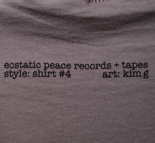 Sonic Youth / Ecstatic Peace Tee