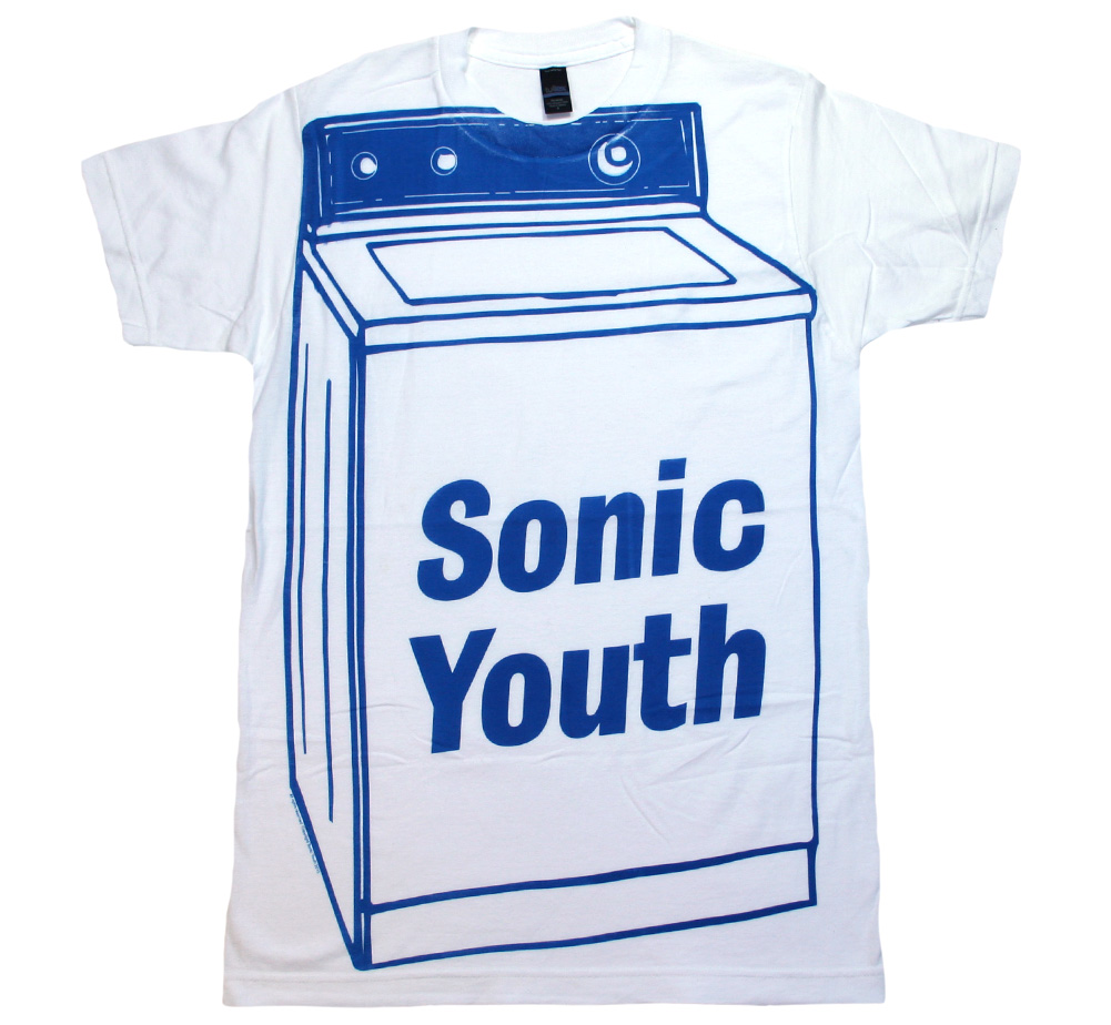 Sonic Youth / Washing Machine Big Print Tee (White)