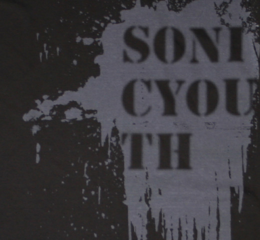 Sonic Youth / Rather Ripped Tee (Charcoal Gray)