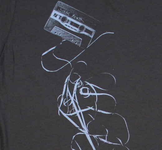 Sonic Youth / Taping Tee (Destroyed Vintage Grey)