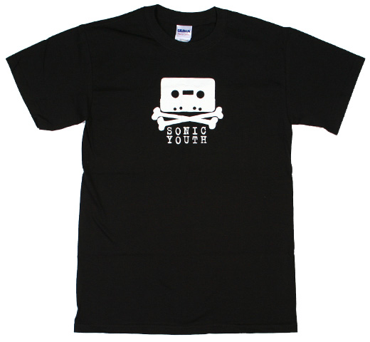 Sonic Youth / Taping Tee (Black)