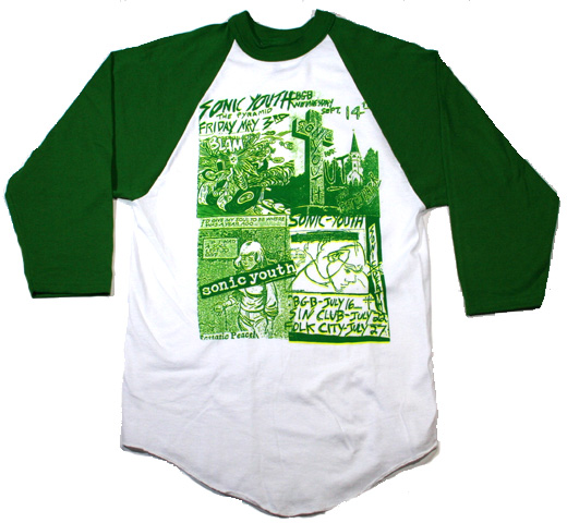 Sonic Youth / Four Flier Tee