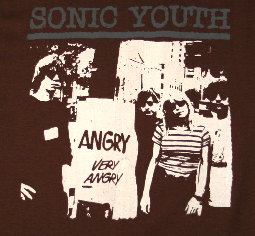Sonic Youth / Angry Tee