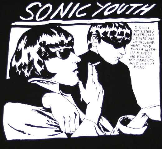 Sonic Youth / Goo Tee (Black)