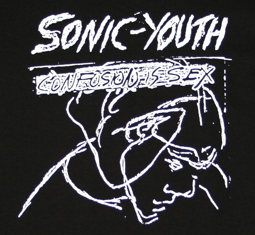 Sonic Youth / Confusion Sex Tee