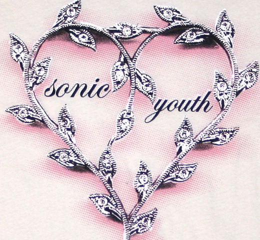 Sonic Youth / Girl's Necklace (Natural White)