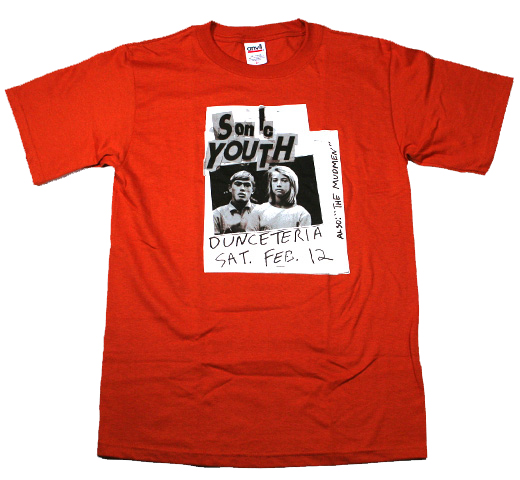 Sonic Youth / Danceteria Flyer Tee