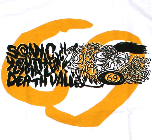 Sonic Youth / Death Valley '69 Tee (White)