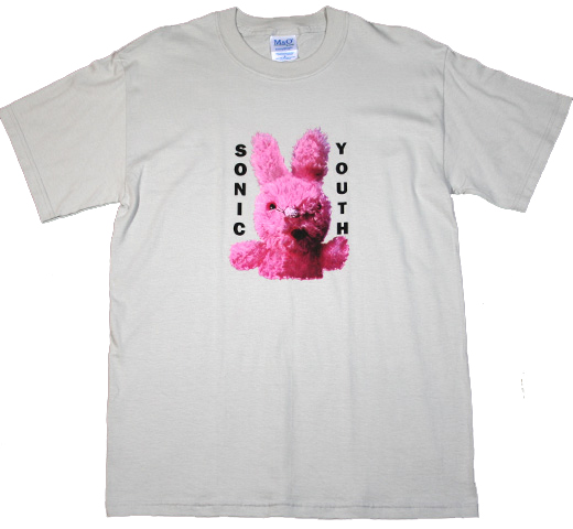 Sonic Youth / Dirty Bunny Tee (Grey)