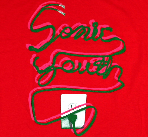 Sonic Youth / Hot Wire Tee (Red)